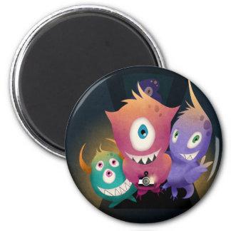 Lomo Fisheye Monsters 2 Inch Round Magnet