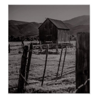 Lompa Ranch, Carson City, Nevada Poster