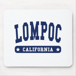 Lompoc California College Style tee shirts Mouse Pad
