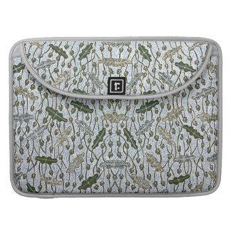 Lompongan Teratai Lotus Batik MacBook Pro Sleeve