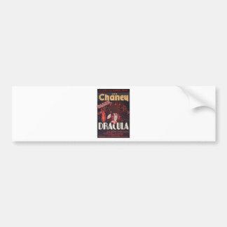 Lon Chaney as Dracula Bumper Sticker