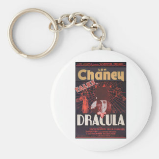 Lon Chaney as Dracula Keychain