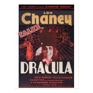 Lon Chaney as Dracula Postcard