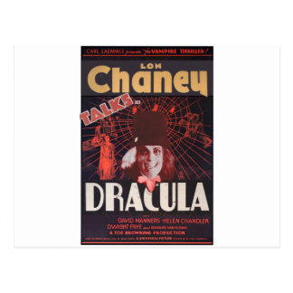 Lon Chaney as Dracula Postcard