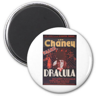 Lon Chaney como Drácula Imán Redondo 5 Cm