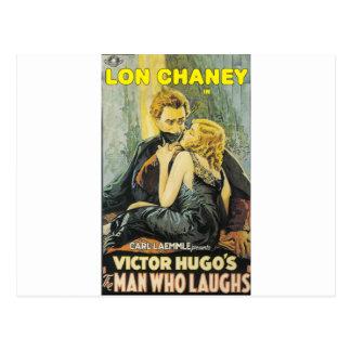 Lon Chaney es el hombre que ríe Tarjeta Postal