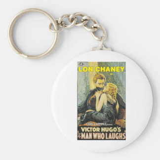 Lon Chaney is The Man Who Laughs Keychain