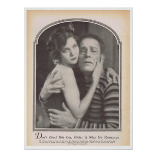 Lon Chaney Loretta Young 1928 Impresiones