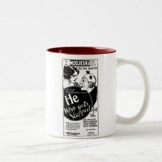 Lon Chaney Norma Shearer HE WHO GETS SLAPPED 1925 Two-Tone Coffee Mug