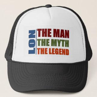 Lon the man, the myth, the legend trucker hat