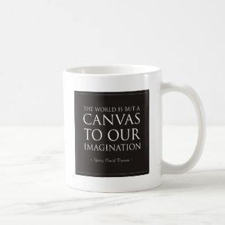 Lona a nuestra imaginación taza de café