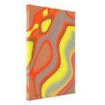 Lona abstracta brillante impresiones en lienzo estiradas