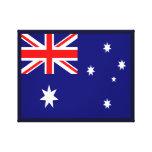 Lona australiana de la bandera impresiones en lona estiradas