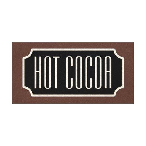 Lona caliente de la muestra del cacao lienzo envuelto para galerias