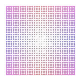 Lona capítulo evolución circular (los 2ft los x 2f lienzo envuelto para galerías