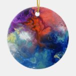 Lona curativa número 3 de las energías ornamentos de navidad