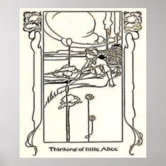 Lona de Alicia Burno 10 Poster