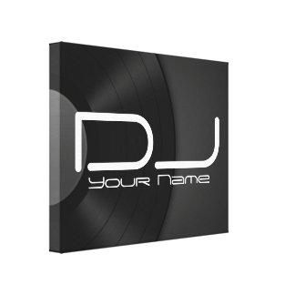Lona de alta calidad de DJ Impresion De Lienzo