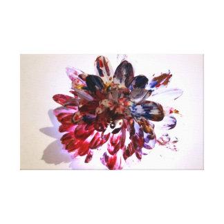 Lona de arte de la fotografía del chapoteo de la p impresiones de lienzo
