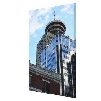 Lona de arte de Vancouver Gastown de la impresión  Lona Estirada Galerias
