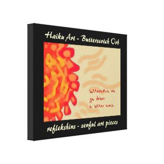 Lona de arte del Haiku del orbe del caramelo Impresion En Lona