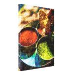 Lona de arte deliciosa del trío de los amantes de  impresión en lienzo estirada