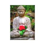 Lona de Buda de la flor Lona Envuelta Para Galerías