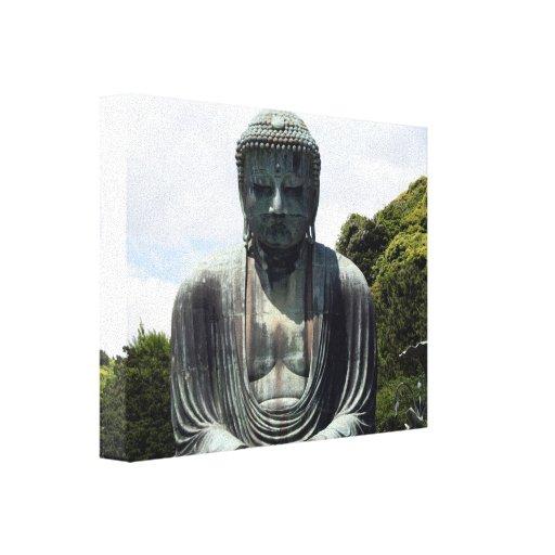 lona de Buda de la paz Impresiones En Lona Estiradas