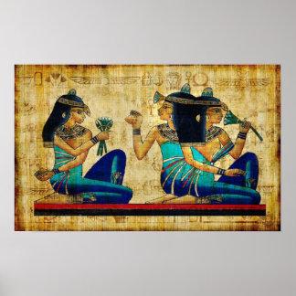Lona de Egipto antiguo 6 Póster
