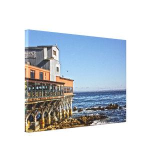 """""""Lona de la bahía de Monterey"""" Impresiones En Lona Estiradas"""