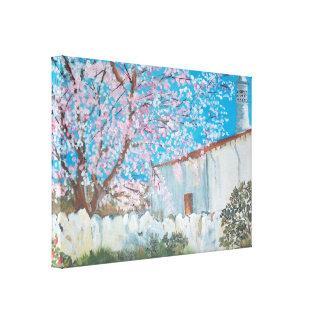Lona de la casa de Algarve Impresiones En Lona