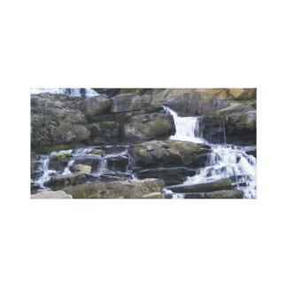 Lona de la cascada lona envuelta para galerías