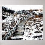 Lona de la escalera Nevado Impresiones