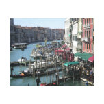 Lona de la impresión de Venecia Italia Lona Estirada Galerías