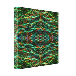 Lona de la mandala de Mirrorcle 'BO Lona Envuelta Para Galerías