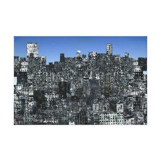 Lona de la metrópoli XX Lona Estirada Galerias