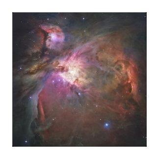 Lona de la nebulosa de Orión Lona Envuelta Para Galerías
