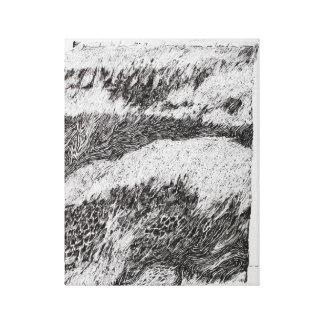 Lona de la página del libro del artista de impresión en lienzo