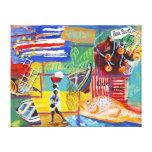 Lona de la pared de Cabo Verde Lona Estirada Galerías