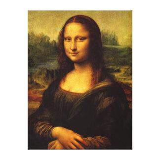 Lona de la pared de Mona Lisa Lona Estirada Galerias