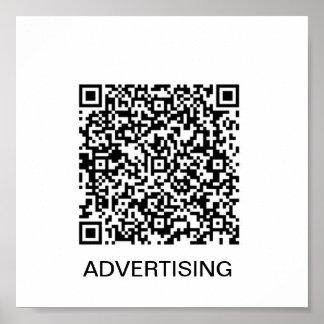 lona de la publicidad posters