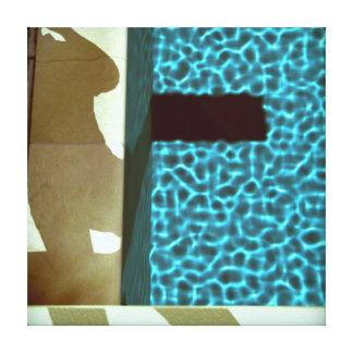 Lona de la SERIE 10e05 de la PISCINA de DAVID Impresión En Lienzo