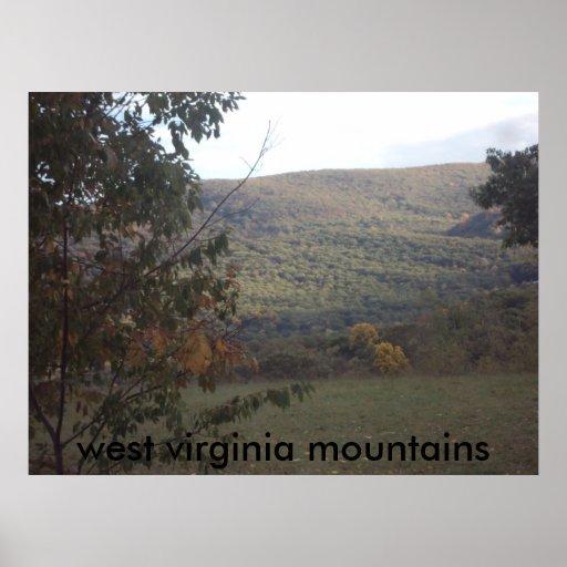 lona de las montañas impresiones