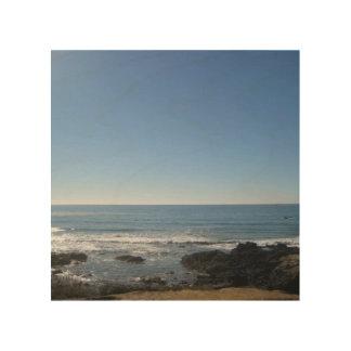Lona de madera de la playa de California Impresiones En Madera