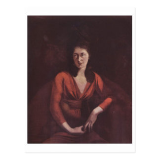 Lona de Magdalena Hess Zurich del retrato de Henry Tarjeta Postal