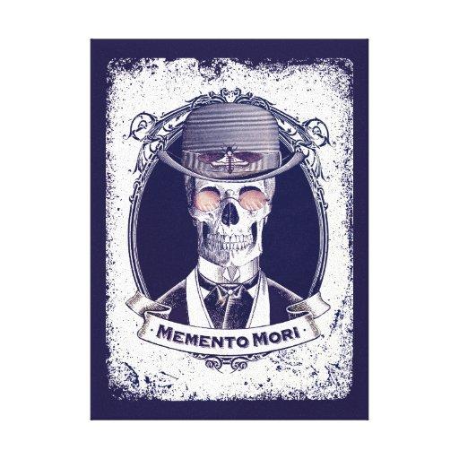 Lona de Mori del recuerdo del arte del cráneo del  Lona Envuelta Para Galerías