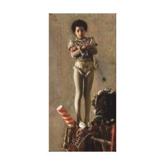 Lona de Saltimbanco Antonio Mancini Lona Envuelta Para Galerias