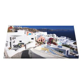 Lona de Santorini Impresiones En Lona Estiradas