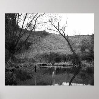 Lona de Shropshire Póster
