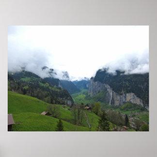 Lona de Suiza Póster